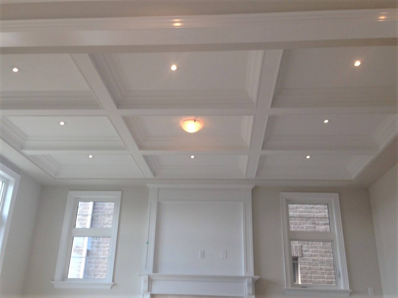 Waffle Ceiling Designs Five Star Moulding