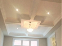 Design and installation of Waffle Ceiling