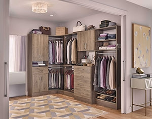 Custom Build Closet, Design and installation