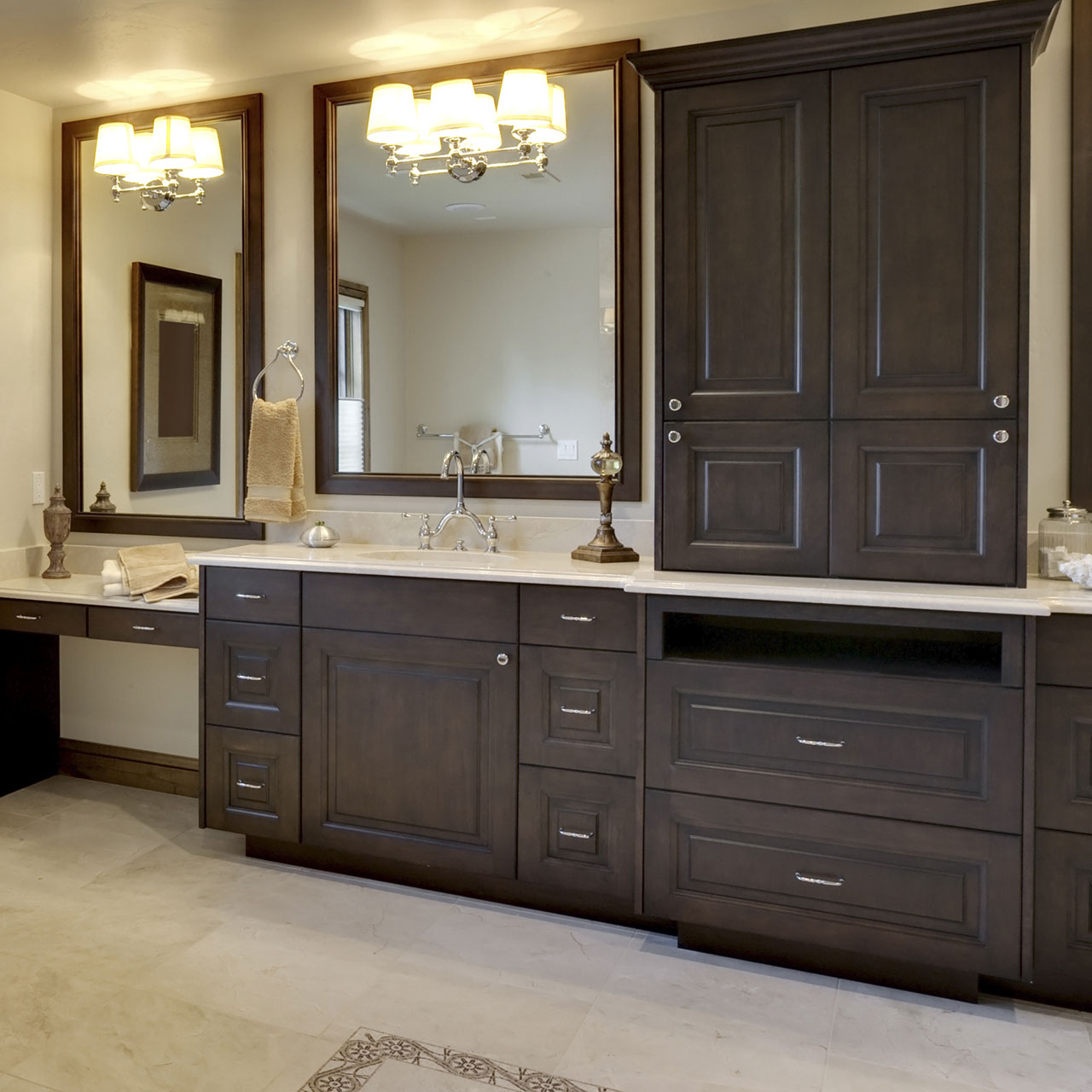 Kitchen Cabinets Made To Order: Custom Build Bathroom Cabinets & Made To Order Bath Vanities